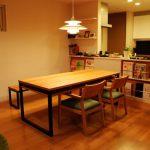 棚付ダイニングテーブルセット c3031