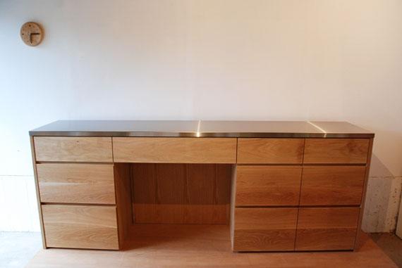 キッチンボード ステンレス天板 5016
