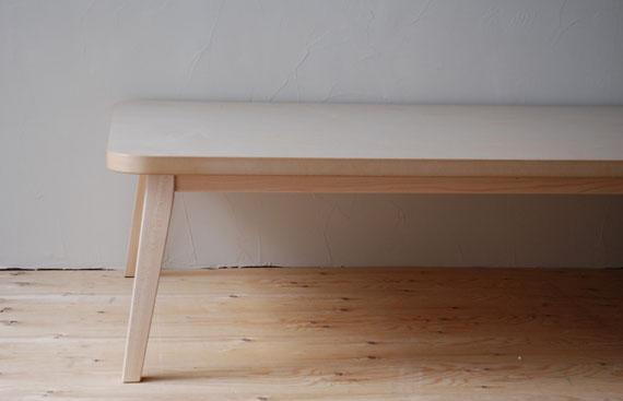 ローテーブル ハードメープル c3008
