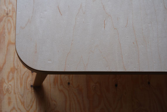 ローテーブル ハードメープル c3008イメージ-1
