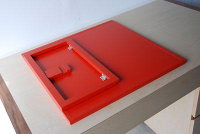 オーダーメイド学習机とマグネットボード c3017イメージ-3