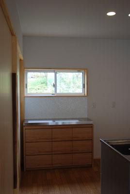 食器棚 ステンレスとナラ材のキッチン収納 5011イメージ-6