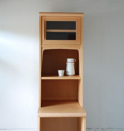 食器棚横のスキマ収納 c5021