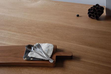 棚付きダイニングテーブル 木の脚 c3022イメージ-3
