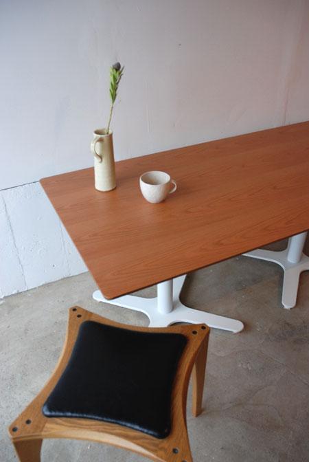 ダイニングテーブル 低座椅子の為の55cm低め c3023イメージ-2