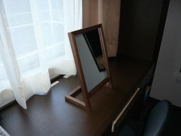 ホテル客室レディースルーム卓上ミラー c7017イメージ-7