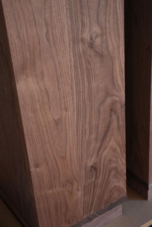 ウォールナット無垢材の本棚 固定棚と可動棚 幅50cm c5031イメージ-5