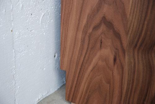 本棚 ウォールナット無垢材 幅80cmオーダーサイズ c5032イメージ-2