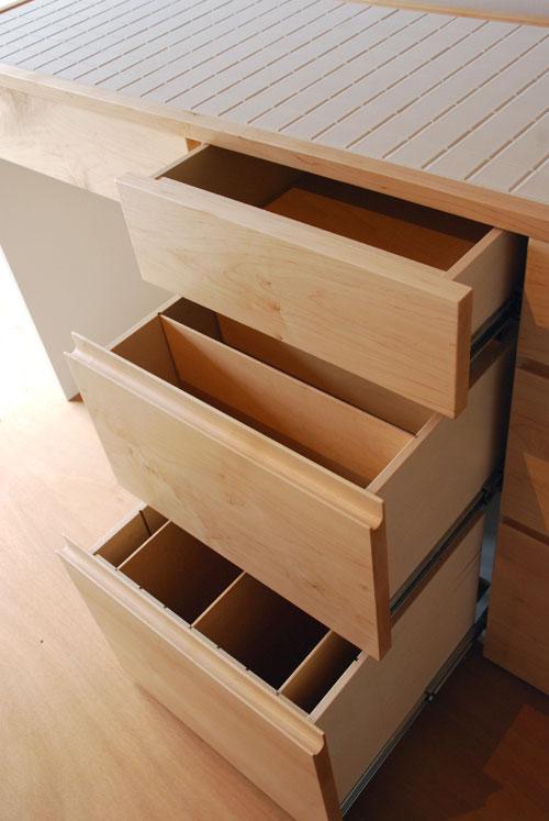 キッチンボード ハードメープル&タイル天板 c5033イメージ-4