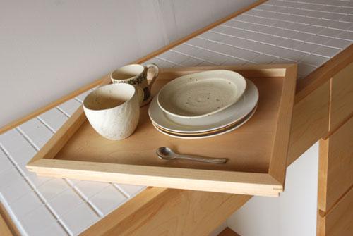 キッチンボード ハードメープル&タイル天板 c5033イメージ-9