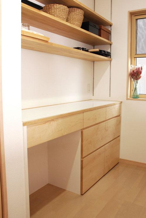 キッチンボード ハードメープル&タイル天板 c5033イメージ-10