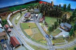 ジオラマテーブル 鉄道模型 c3003イメージ-3