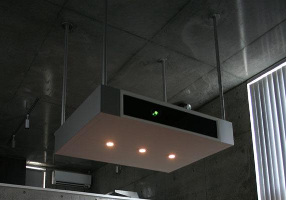 プロジェクターボックス 天吊り式 c7004