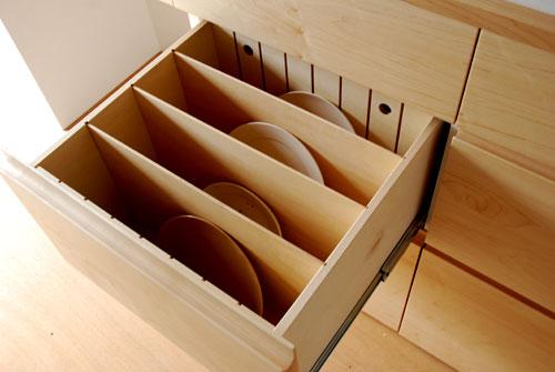 キッチンボード ハードメープル&タイル天板 c5033イメージ-6
