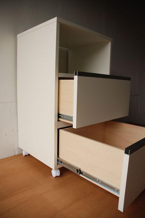 小さな白いレンジ台 c5013イメージ-1