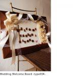 ウェディングウェルカムボード c7009