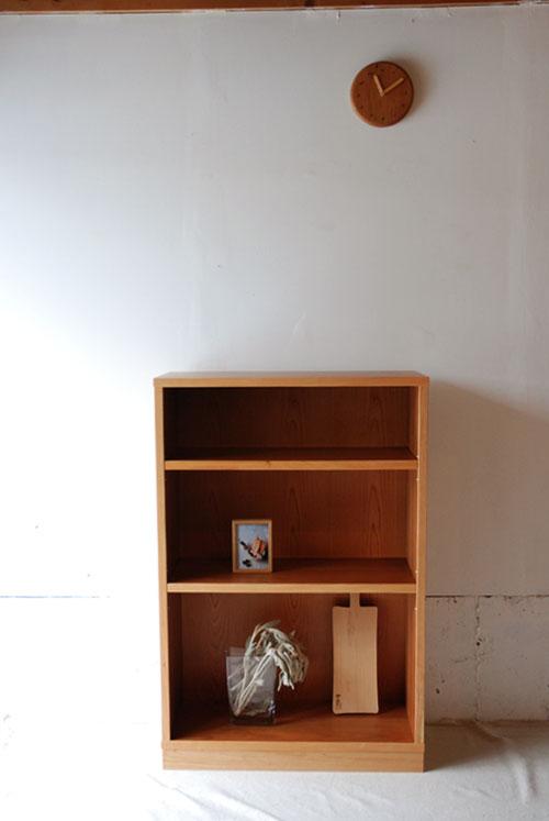 本棚 ブラックチェリー材 c5038