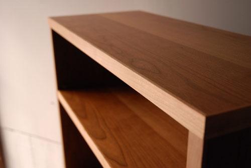 本棚 ブラックチェリー材 c5038イメージ-2