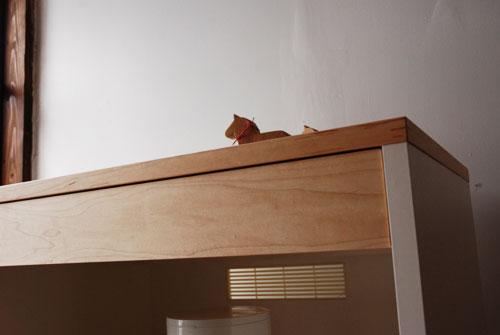 キッチンボード 仕切板でお皿を縦に収納する 幅71cm c5040イメージ-5