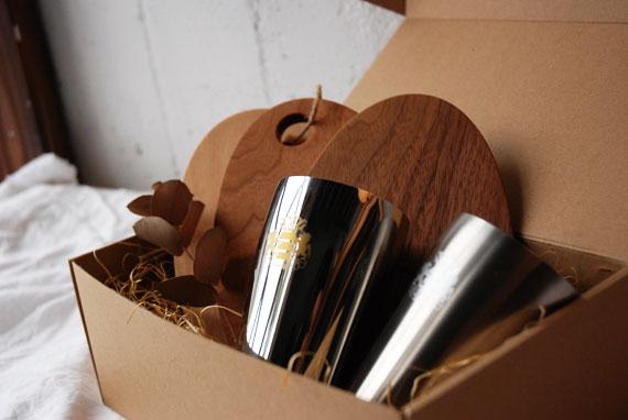 カフェボンと磨き屋シンジケート ビアゴブレット ギフトセット 8011