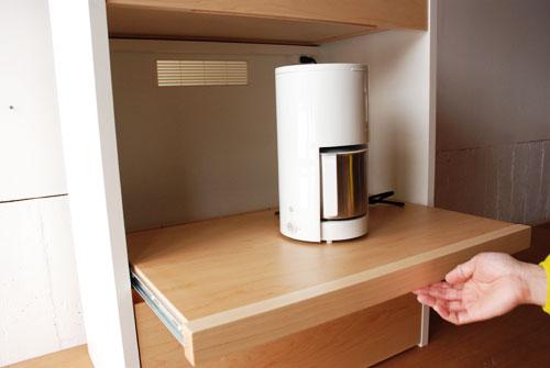 キッチンボード 仕切板でお皿を縦に収納する 幅71cm c5040イメージ-4
