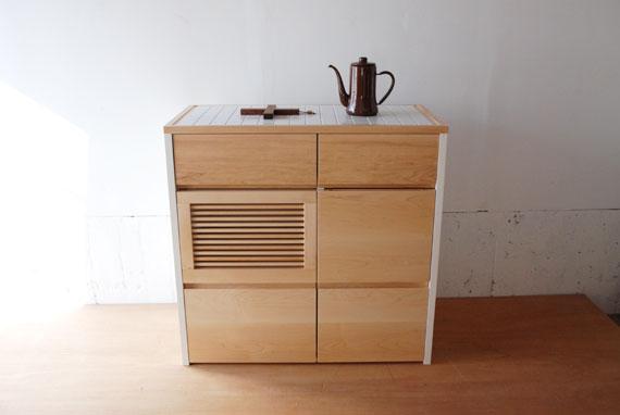 キッチンボード 食器と家電を収納 c50442