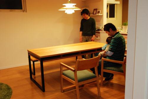 棚付ダイニングテーブルセット c3031イメージ-4