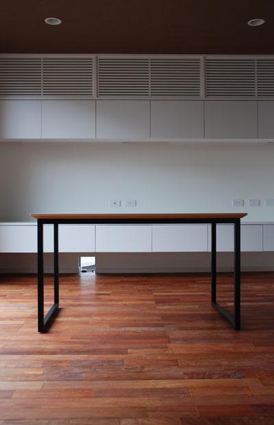 ダイニングテーブル ハードメープル&スチール脚 c3001