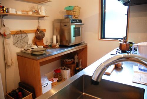 ステンレス天板の作業台 業務用オーブンが置ける c5049イメージ-2