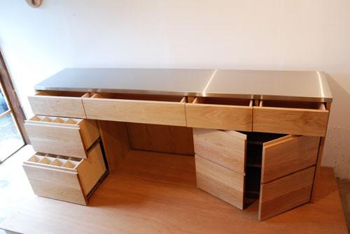 キッチンボード ステンレス天板 5016イメージ-3