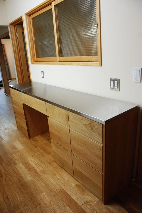 キッチンボード ステンレス天板 5016イメージ-5