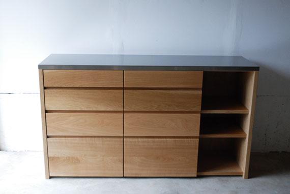 キッチンボード ステンレス天板 c5052
