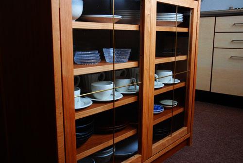 両面づかいのアイランド型作業台・食器棚・カウンター 5023イメージ-5