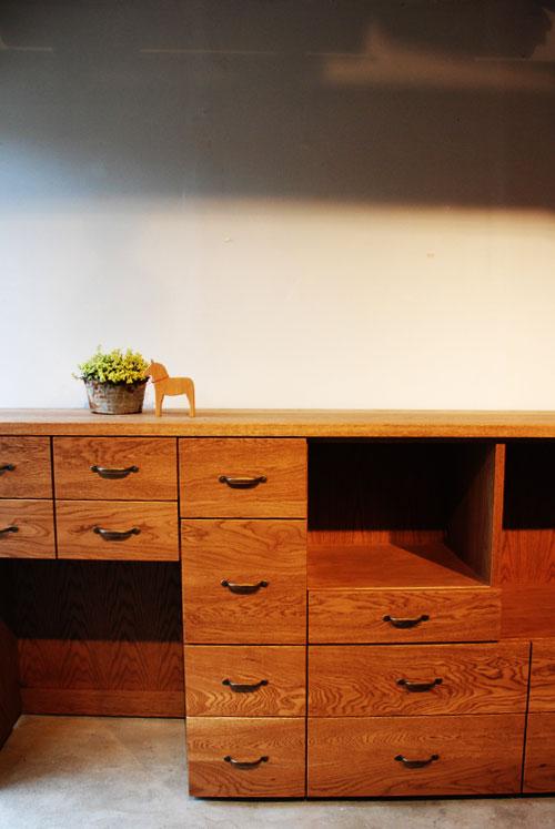 キッチンボードとレンジ台として使う方の為のキャビネット 5026