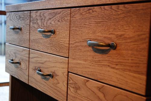 キッチンボードとレンジ台として使う方の為のキャビネット 5026イメージ-5