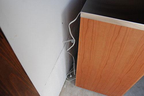 炊飯器やゴミ箱や食器を効率よく収納できるキッチン家具 5033イメージ-7