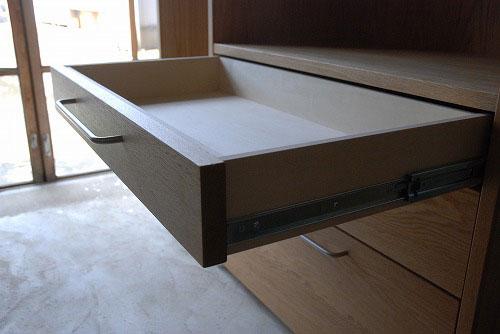 キッチンボード マンションの冷蔵庫脇にちょうどよいサイズ 5034イメージ-4