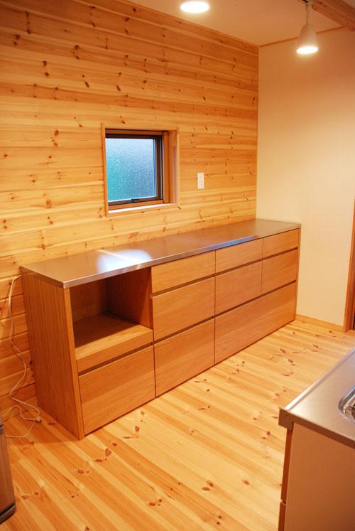 キッチンボードとレンジ台として使う方の為のキャビネット 5036