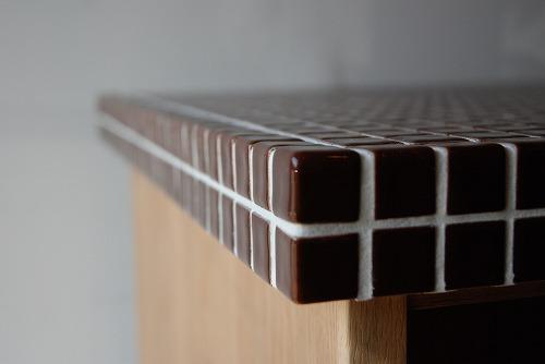 アイランドカウンターのモザイクタイル天板 646イメージ-2