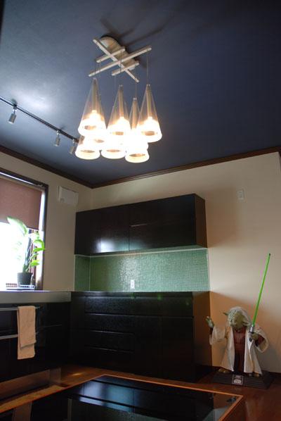 キッチンボード スミクロ 墨黒色オーク c5024