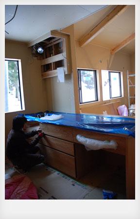 オーダーキッチン ナラ無垢 c5012イメージ-7