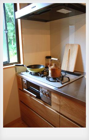 オーダーキッチン ナラ無垢 c5012イメージ-8