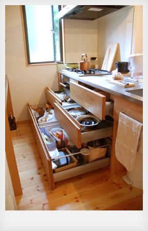 オーダーキッチン ナラ無垢 c5012イメージ-3