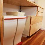 造作家具食器棚 引出し式 c5043