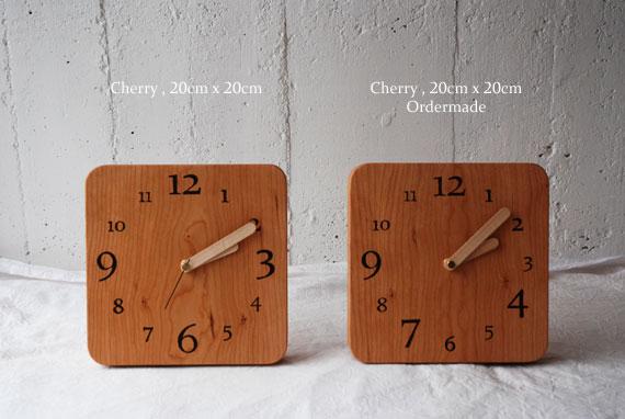 木の時計 オーダーサイズ 80092