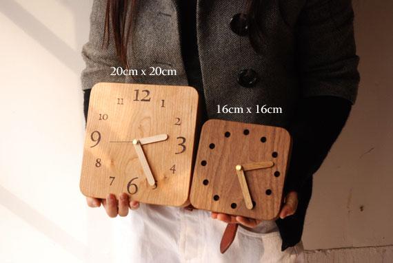 木の時計 オーダーサイズ 80092イメージ-1