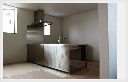 オールステンレスキッチン パンチングステンレスパネル 5017イメージ-2