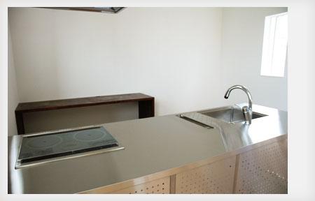 オールステンレスキッチン パンチングステンレスパネル 5017イメージ-4