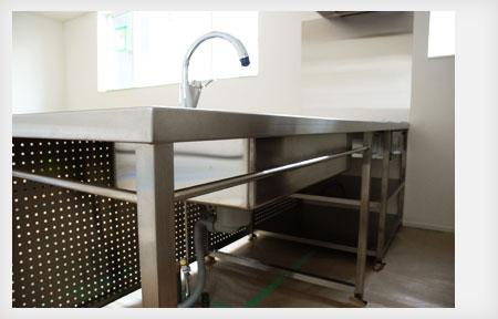オールステンレスキッチン パンチングステンレスパネル 5017イメージ-6