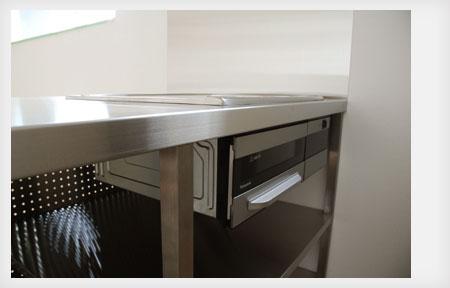 オールステンレスキッチン パンチングステンレスパネル 5017イメージ-8